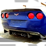 ZR1 CORVETTE REAR SPOILER EXTENDED VERSION