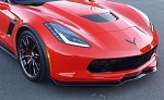 C7 CORVETTE Z06 FRONT SPLITTER STG 2 CARBON FLASH