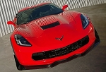 C7 CORVETTE FRONT SPLITTER C7.R STYLE CARBON FLASH