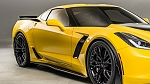 C7 CORVETTE Z06/Z07 OEM STYLE SIDE SKIRT SET CARBON FLASH